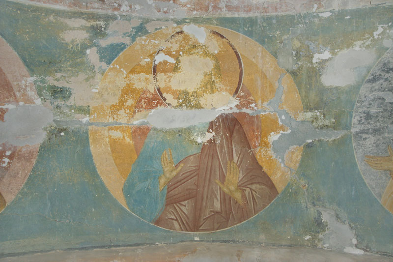 Dionisy's frescoes. Forefather Adam