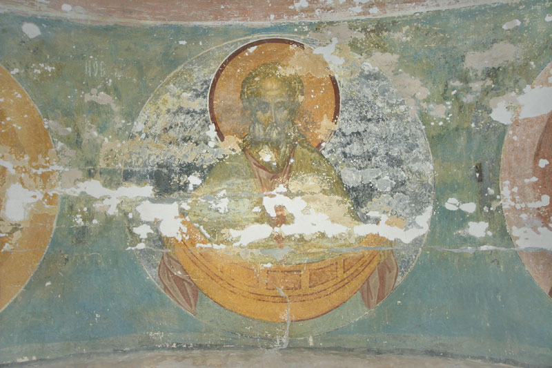 Dionisy's frescoes. Forefather Noah