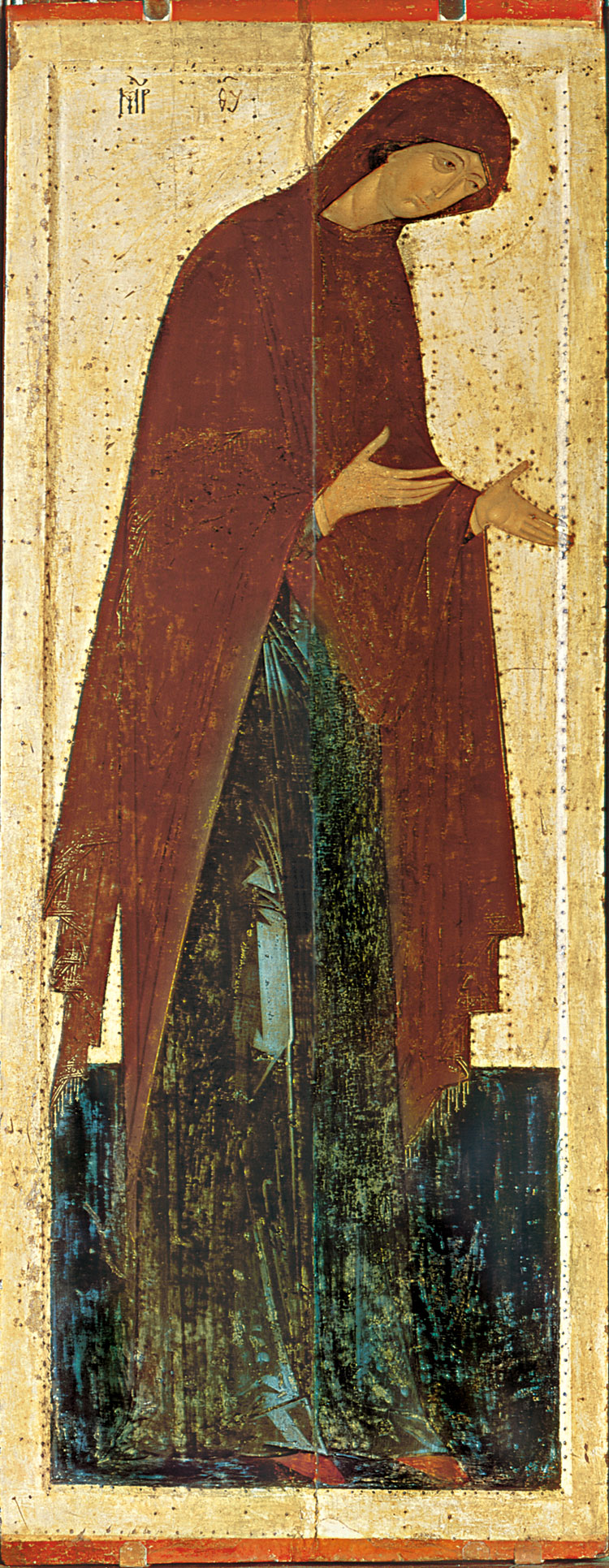 Theotokos. Dionisy and his studio. 1490s or 1502-1503