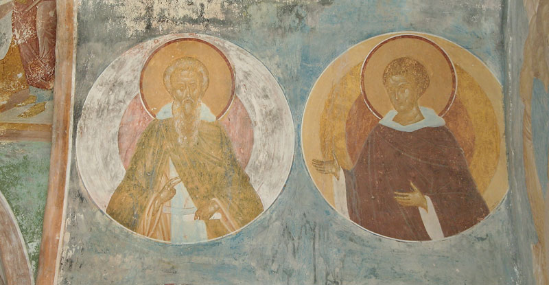 Dionisy's frescoes. Unknown Saints