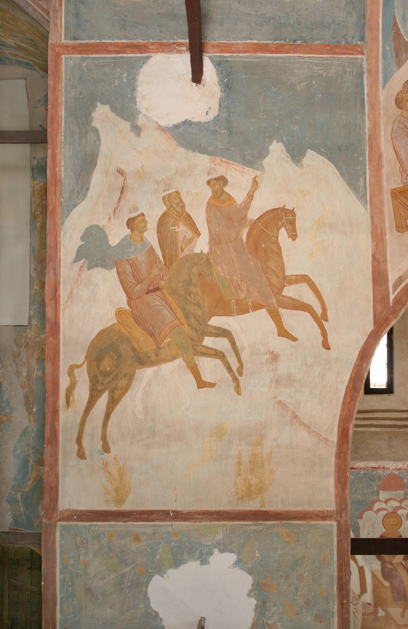 "Dionisy's frescoes. ""Beholding the Godward-pointing Star, the Magi..."" (Akathist. Kontakion 5)"
