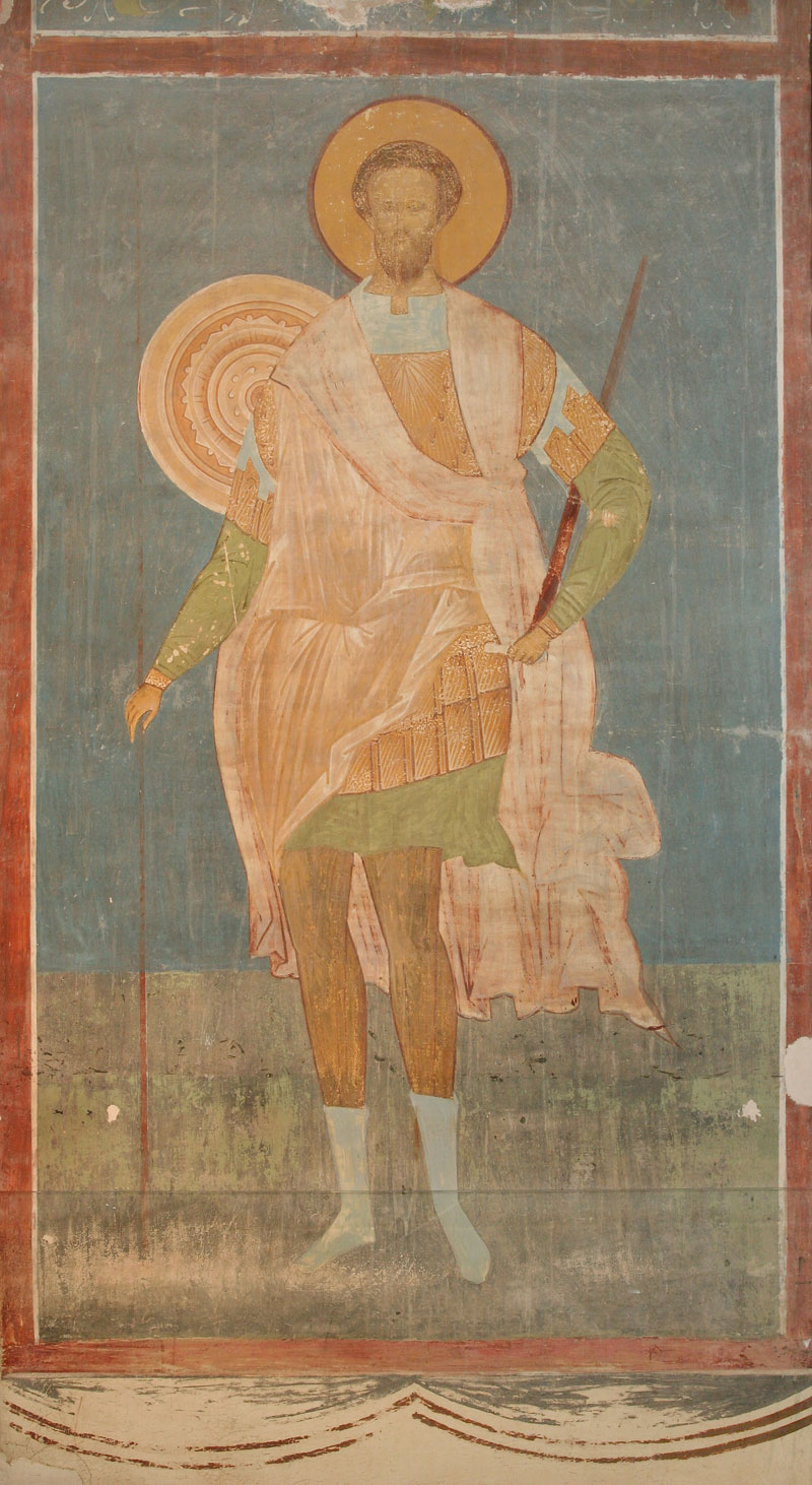 Dionisy's frescoes. Great Martyr Theodore of Tyre