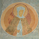 St. Makrina and Unknown Martyr