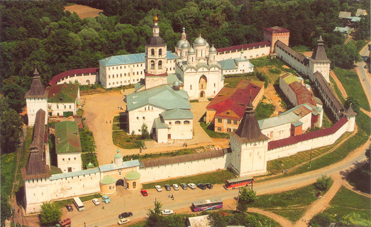 A view of the St. Paphnutius Borovsk Monastery
