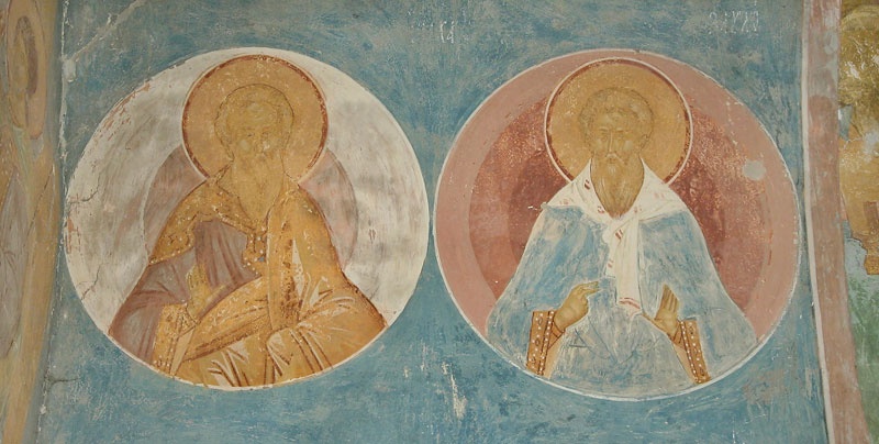 Dionisy's frescoes. Forefathers Issahar and Zebulun