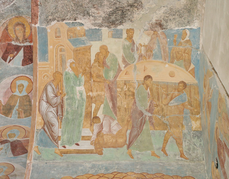 Dionisy's frescoes. Parable of the Publican and the Pharisee; Parable of the Prodigal Son