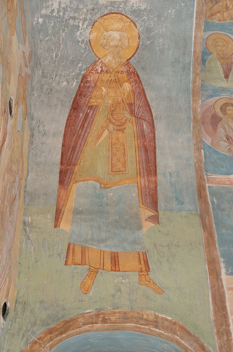 Dionisy's frescoes. High Priest Aaron
