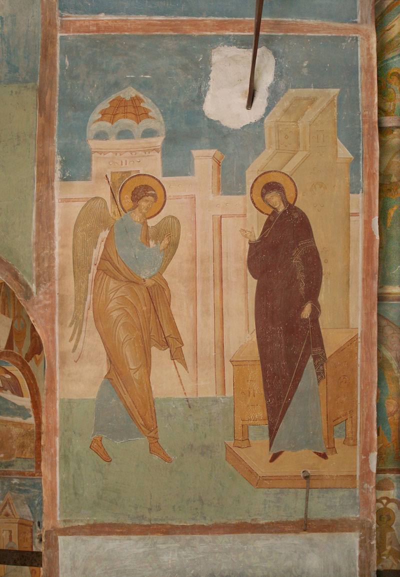 "Dionisy's frescoes. ""Seeking to know the incomprehensible knowledge..."" (Akathist Eikos 2)"