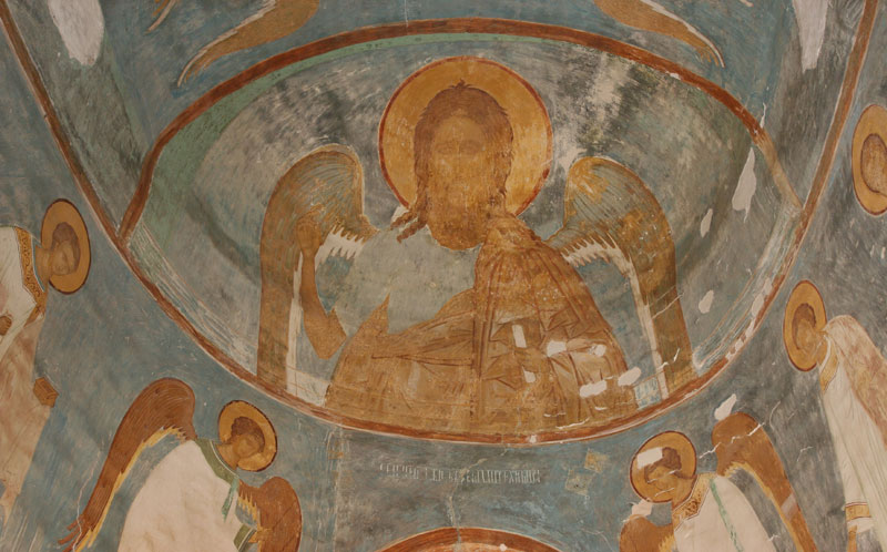 Dionisy's frescoes. John the Baptist, Angel of the Wilderness