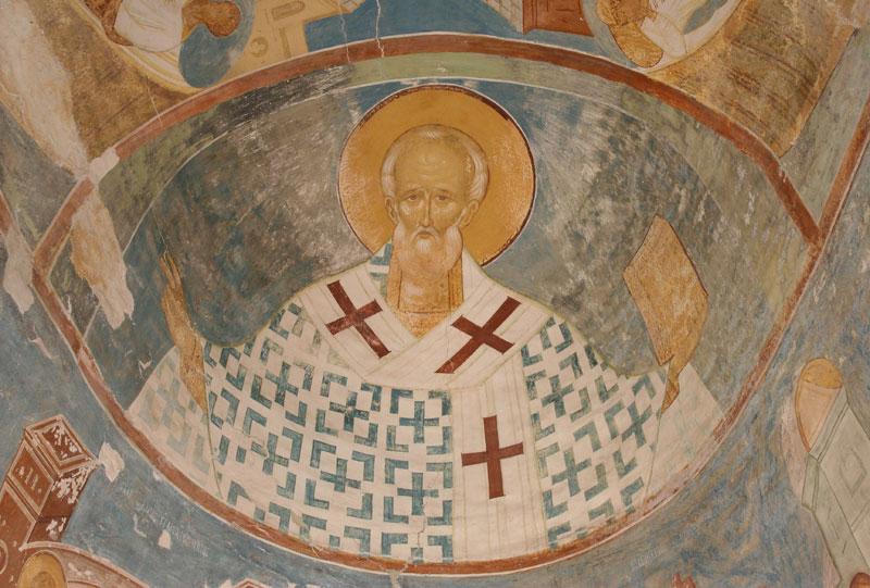 Dionisy's frescoes. Saint Nicholas, Bishop of Myra
