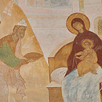 """The sons of the Chaldees saw in the hands of the Virgin Him..."" (Akathist. Eikos 5)"