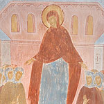 """You are a fortress protecting all virgins, O Theotokos and Virgin..."" (Akathist, Eikos 10)"