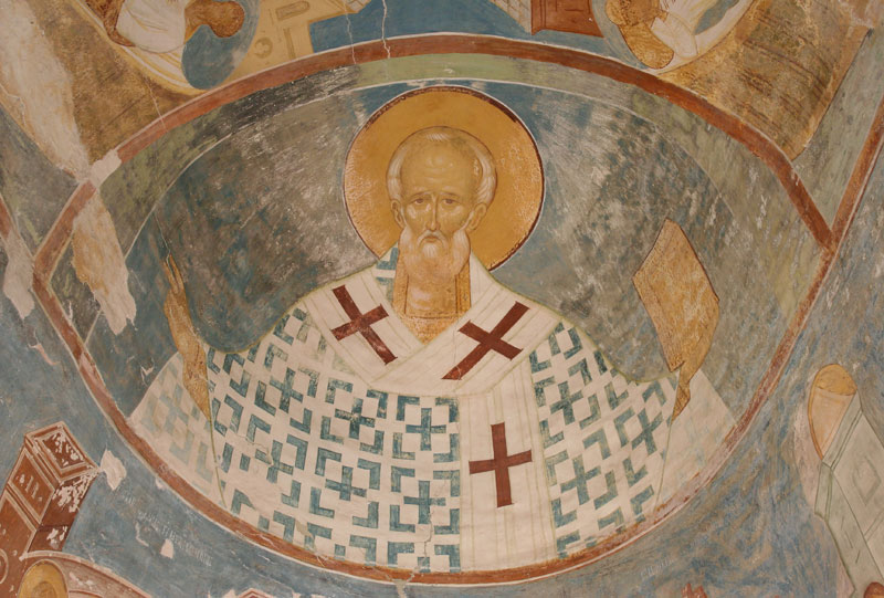 Dionisy's frescoes. Saint Nicholas, Bishop of Myra