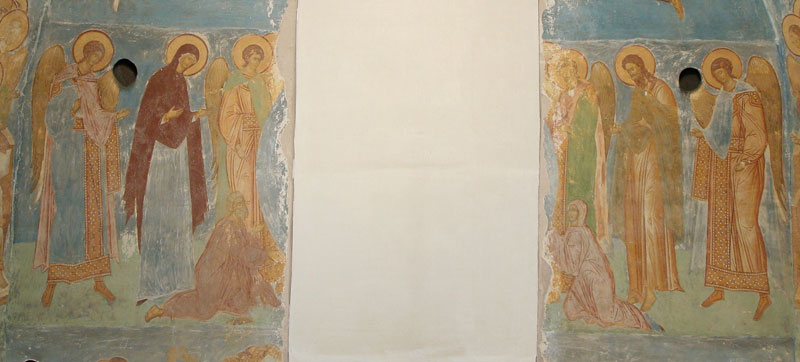 Dionisy's frescoes. Deesis. The Last Judgement
