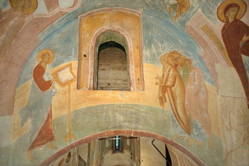 "Dionisy's frescoes. ""New was the Creation which the Creator showed to us..."" (Akathist. Eikos 7)"