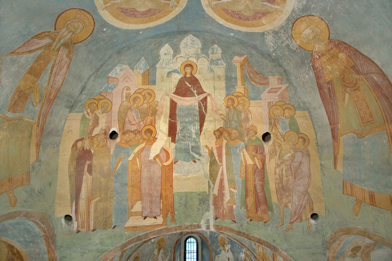 Dionisy's frescoes. Protection of Mother of God (Intercession)