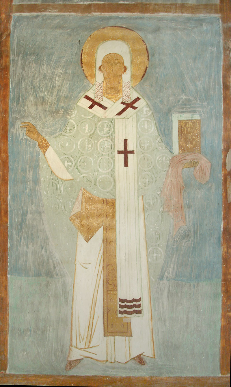 Dionisy's frescoes. Priest Leonty of Rostov