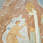 Saint Nicholas Saves Adolescent Demetrius from Drowning