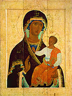 The Holy Virgin Hodegetria. Dionisy and his studio